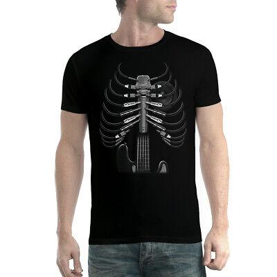 Amped Up Chitarra T-shirt Uomo Xs-5xl-mostra Il Titolo Originale