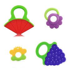 Alle Silikon Beißring kaut Blume-förmige Kunststoff-Gerät Gu-Chi-Baby Beißring