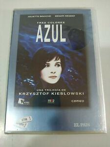 Tres Couleurs azul Krzystof Kieslowski Juliette Binoche - DVD nuevo
