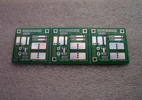 ! 3er ungeschnitten Platine ohne Bauteile für PT4115 FR4-Industriequalität
