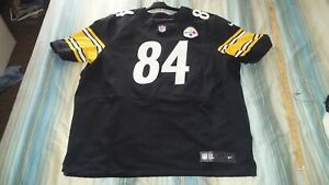 innovative design 527ef c9a8e Details about ANTONIO BROWN #84 STEELERS AUTHENTIC HOME NIKE ELITE FOOTBALL  JERSEY sz 56