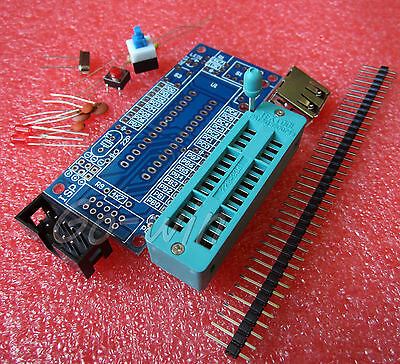 2pcs ATMEGA8 ATMEGA48 ATMEGA88 Development Board AVR (NO Chip) DIY Kit M81