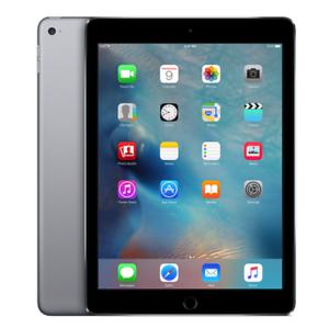 Apple iPad Air 2 Retina 9.7-Inch, 64GB, Wi-Fi, Space Grey, Bundle W/ Smart Cover