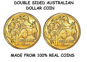 Image Is Loading Double Sided Australian Dollar Coin Same Side
