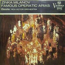 Zinka Milanov(Vinyl LP)Famous Operatic Arias-RCA-VIC 1198-UK-Ex-/NM