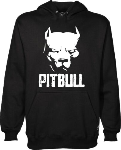 Sweatshirt Pitbull Dog Kick Boxing Sweat Hoodie Amstad