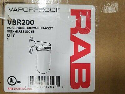 "RAB VX2 200 CEILING 4/"" BOX FOR VAPORPROOF 1//2/"" LESS GLOBE"