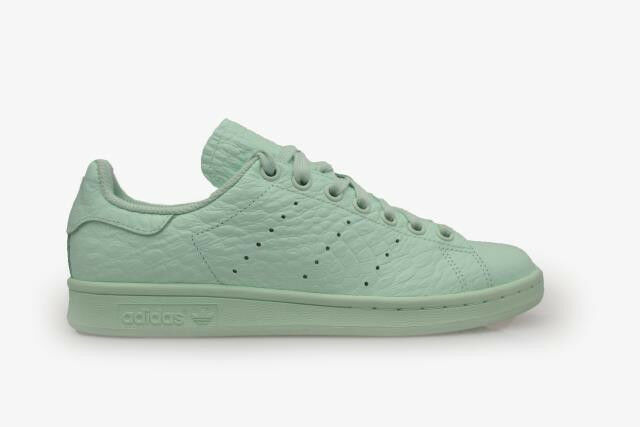 Womens W Adidas Stan Smith W Womens AQ6806 Pale Green Trainers 7c6213