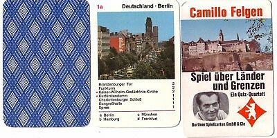 Fiducioso Quartetto Camillo Cerchi Gioco Su Paesi E Limiti V. Di Berlino-mostra Il Titolo Originale I Prodotti Sono Venduti Senza Limitazioni