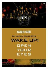 BTS Bangtan Boys 1st Japan Tour 2015 Wake up Open Your Eyes 2dvd Pcbp53131