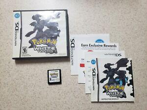 AUTHENTIC Pokemon White Version (DS, 2011) Complete in box CIB!