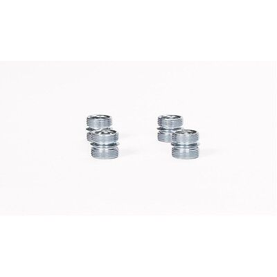 Wire Shelving Pole Connectors - 4 Pack