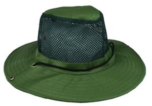Vert-Chapeau-Ete-Plage-Chasse-Peche-Randonnee-Ventile-Maille