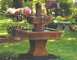 Delicieux Image Is Loading 50 034 Oliveto Fountain Outdoor Concrete Garden Water