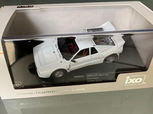 IXO 1 43 LANCIA 037 Evo White Body Blanche Rally WRC specs