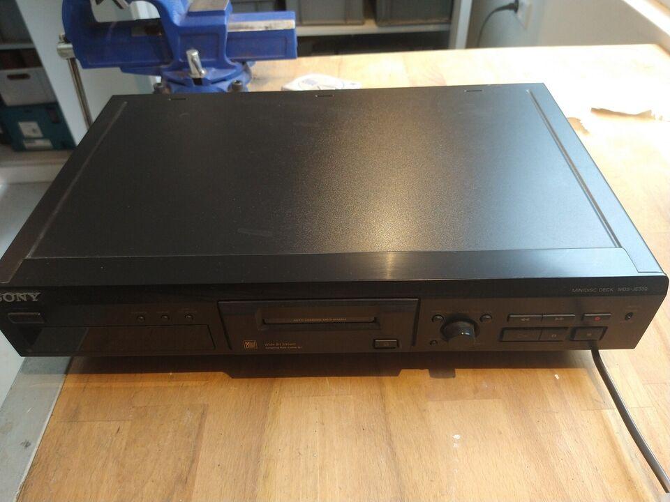 Minidisc afspiller, Sony, MDS-JE330