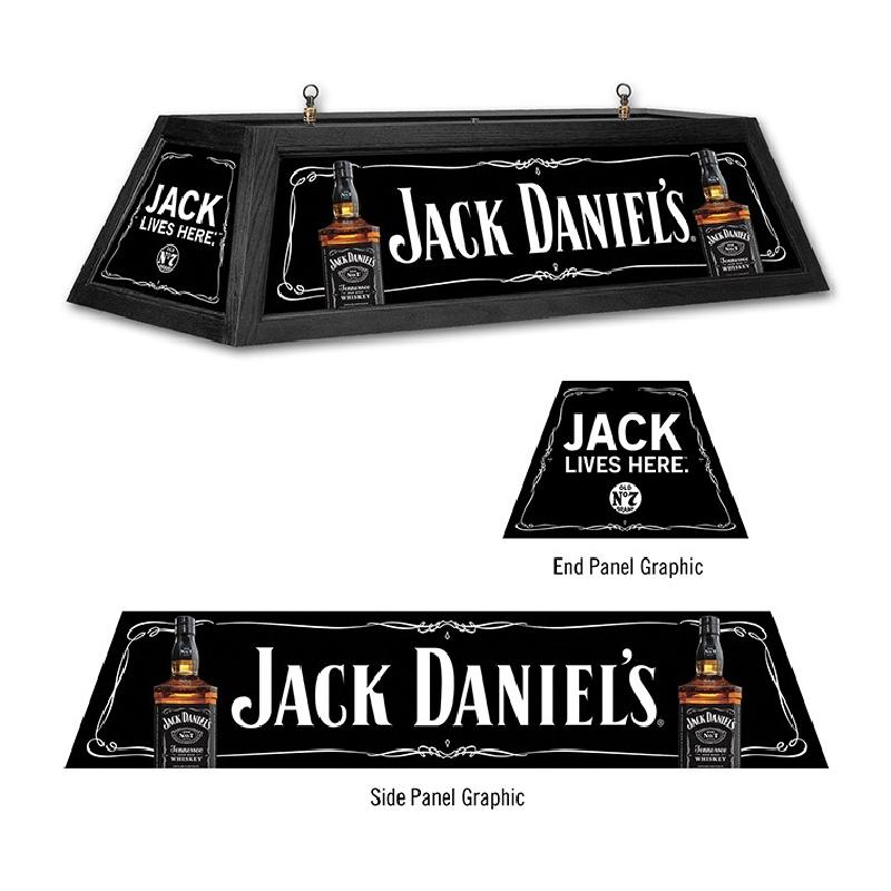 Jack Daniels Jack Lives Here Billiard Table Light