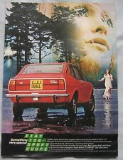 1972 Fiat 128 Sport Coupe Original advert