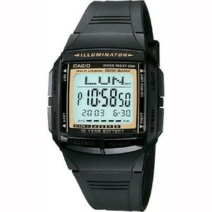 Casio-DB-36-9AV-Telememo-Black-Digital-Watch-with-Casio-Box-Included