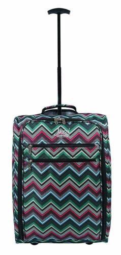 CABIN TROLLEY TRAVEL BAG WHEELED LIGHTWEIGHT SUITCASE Holdall HAND LUGGAGE UK