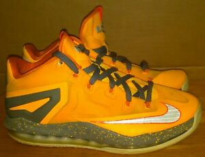 new products c3ac1 eccca Image is loading Nike-Max-Lebron-11-XI-Low-642849-800-
