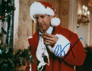 Chevy Chase Christmas Vacation.Details About Chevy Chase National Lampoons Christmas Vacation Signed 8x10 Photo W Coa 1