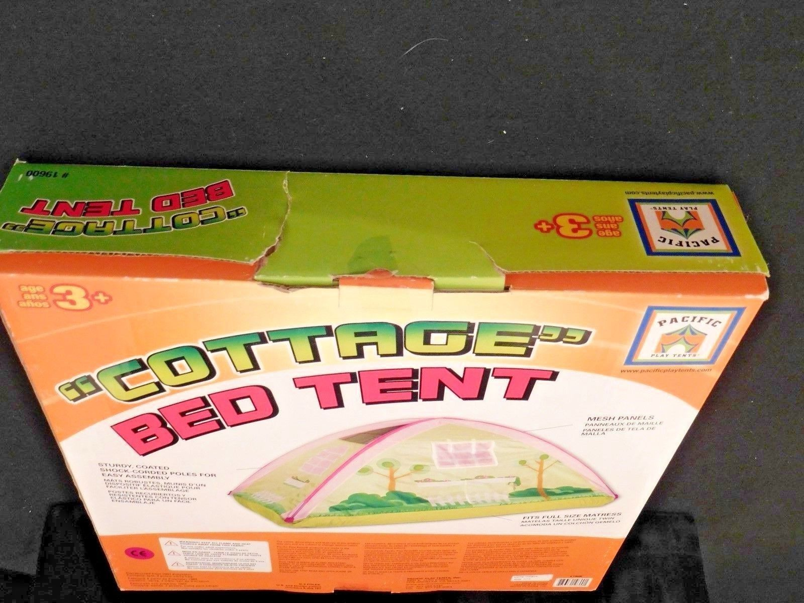 PACIFIC PLAY TENTS KIDS  COTTAGE  BED BED BED TENT PLAYHOUSE - Full Size -  NEW NRFB 9cd77f