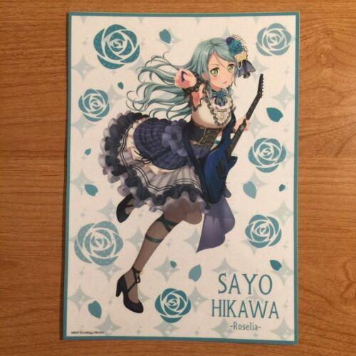 Hikawa Sayo Jumbo Vinyl Sticker Sheet Bushiroad Limit NWT OFFICIAL BanG Dream