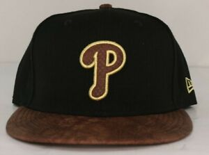 buy popular 53806 a34b8 ... shopping image is loading philadelphia phillies new era mlb gold snake  9fifty d622a e3a1c