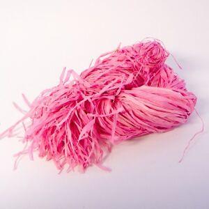 Rafia-rosa-pallido-dissolvenza-Resistente-Decorazione-florists-120g-Nozze-20b152