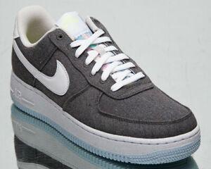 Nike Air Force 1 07 Recyclé Toile Homme Fer Gris Baskets Mode De Vie Chaussures