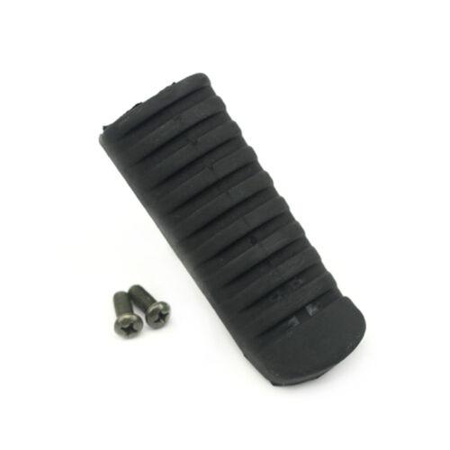 Foot Peg Pedal Rubber For KAWASAKI NINJA 650 ER-4N//6F ZRX 1200 ZR 250//400 ZRX400