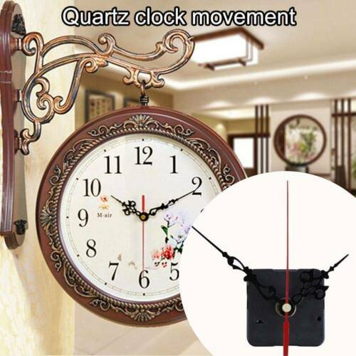 DIY Wall Clock Movement Mechanism Battery Operated Repair Parts Replacement K