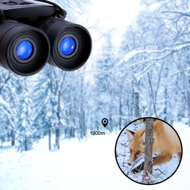 8x21 Optics Binocular HD Powerful Long Range 1000m Telescope for Hunting Camping