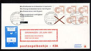 FDC-postzegelboekje-PB-43a-aanhangsel-Philato-bl-ok