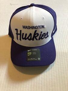 super popular ca912 4da14 Image is loading Washington-Huskies-NCAA-Nike-Local-Dri-Fit-Swoosh-