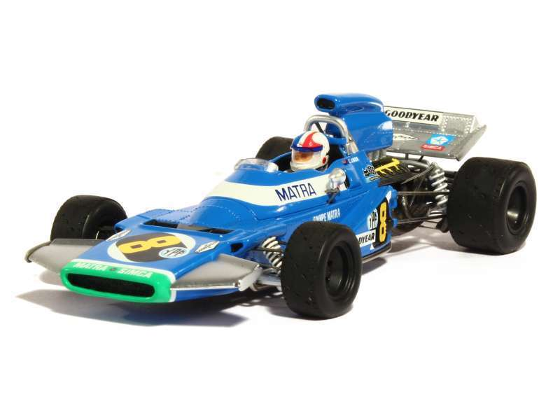 S1592 Spark 1 43  Matra-Simca MS120, No.8, ganador argentoina Grand Prix 1971 Chris Amon