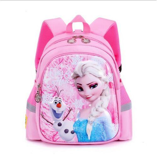 2020 Children Kindergarten Girls Cartoon Frozen Kids School Book Bags Backpacks