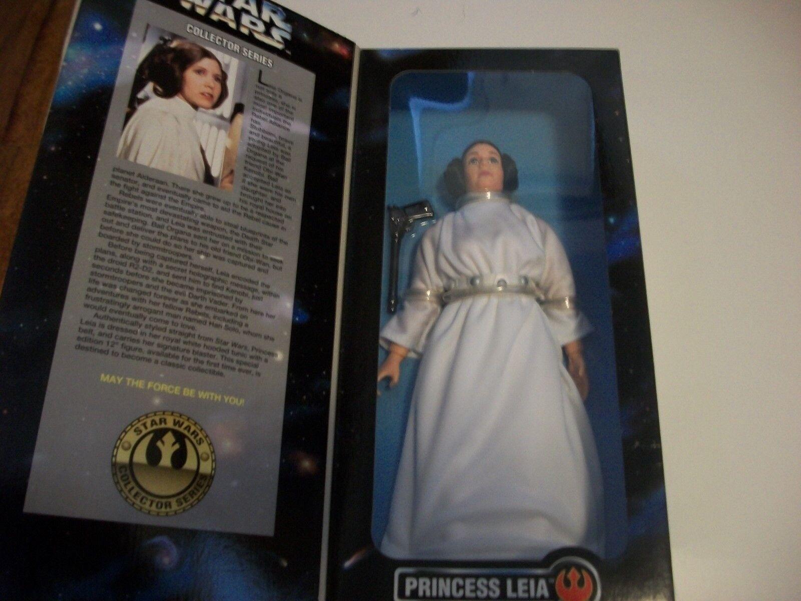 Star Wars Princesse Leia 12 in (environ 30.48 cm) Figure Kenner 1996 jamais retiré de la boîte
