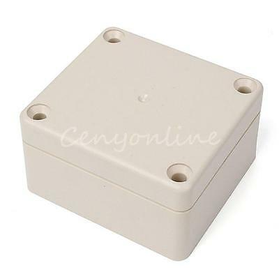 Waterproof Plastic Electrical Junction Box Switch Connection Case 65x60x35mm