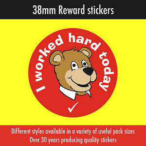 I ate all my lunch today for schools teachers etc 120 Reward Stickers 38mm