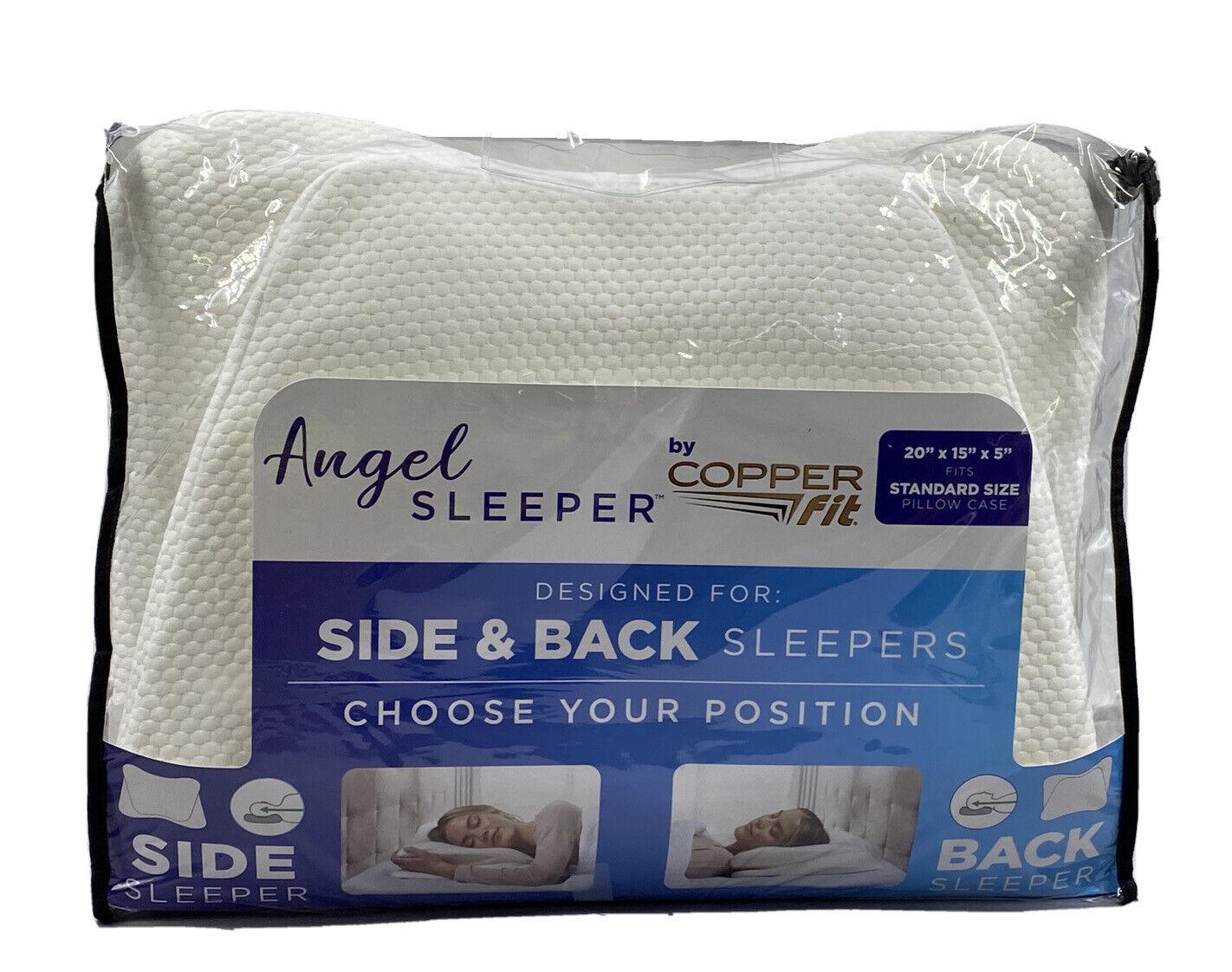Image 1 - Copper-Fit-Angel-Sleeper-Memory-Foam-Pillow