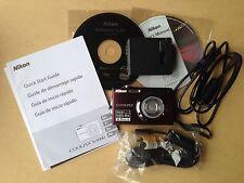 Nikon COOLPIX S3000 12.0 MP Digital Camera Plum 2.7 LCD Wide 4X New Open Box