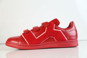 online store 1308e 0c7a9 Details about Adidas Raf Simons RS Stan Smith Comfort Badge Power Red  BB6887 7-12