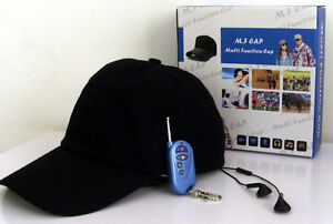 Full HD 1080P Covert Audio Video Recorder Spy Hidden Hat Camera Wireless Control