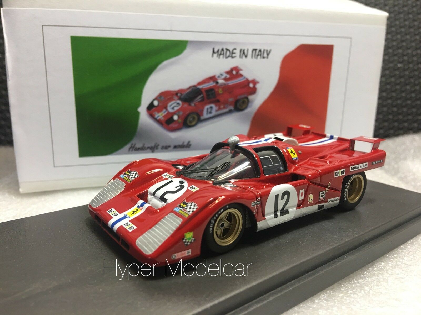 vendita di fama mondiale online MG modello 1 43 43 43 Ferrari 512M squadra N.A.R.T.  12 3th 24h Le uomos 1971 Art. 512M-32  negozio di sconto