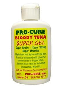 Pro-Cure-Bloody-Tuna-Super-Sticky-Gel-2-oz-Bottle-Fishing-Scent-Attractant