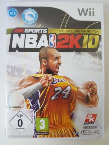 1 von 1 - NBA 2K10 Nintendo Wii Spiel in DVD Box