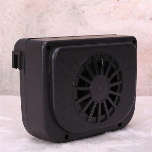 Universel Ventilateur Voiture Auto Énergie Solaire d/'échappement intérieur Ventilation Auto Refroidissement