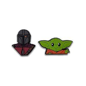 STAR WARS Schuh Pins Clogs Yoda Skywalker Mandalorian Vader Funko Pop Charms